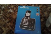 Panasonic telephones. Never used, still in box. Bought from John Lewis 6 months ago.