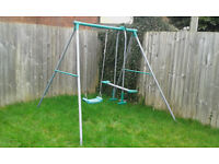Childs Garden Swing and see-saw