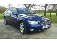 LEXUS IS200 SE FULL DOCUMENTED SERVICE HISTORY 12 MONTHS MOT