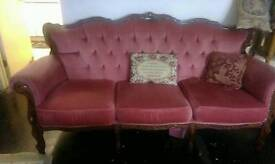 French sofa and chairs