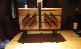 Concertina Needlework Box