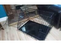 Large Ellie Bo Deluxe Car Slanted Dog Cage