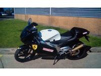 Aprilia RS 125cc motorbike in very good condition