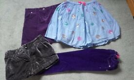 Girls' Skirts and Trousers Bundle