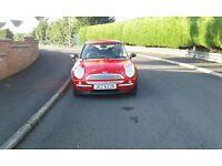 2004 Mini One with full years MOT.