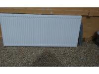 1400 double radiator with brackets