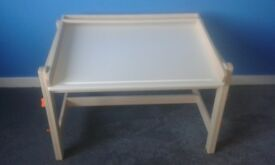Ikea children's white adjustable desk