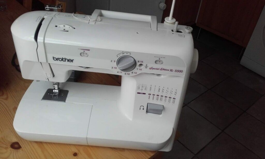 Brother Sewing Machine Special Edition XL 40 Slight Fault Best Brother Special Edition Xl 5500 Sewing Machine