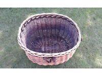 Wicker Log Basket.