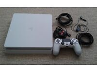 Used in excellent condition Ps4 500GB but is banned from gaming online!
