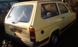 Reliant for restoration