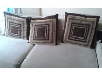 4 seater sofa slight damage to the seat cushion can be repaired