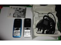 2X nokia 2310 on ee and vodafone in one nokia box
