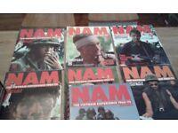 NAM 1965-1975 and Eyewitness NAM magazines