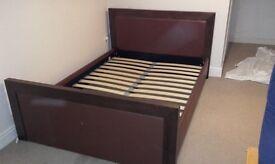Solid hardwood BED (house of fraser)