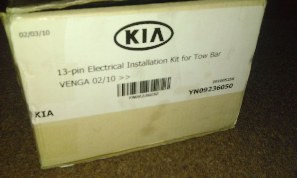 Marvelous Kia Venga 13 In Dedicated Towbar Wiring Kit Genuine Kia Part In Wiring 101 Akebretraxxcnl