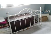 double headboard immaculate condition with all fittings