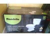 Toilet suite - Mondella Maestro Close Coupled brand new, still in unopened box