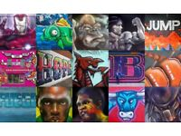 Street Art / Mural / Graffiti Artist / Sign Writer - Professional Nationwide International