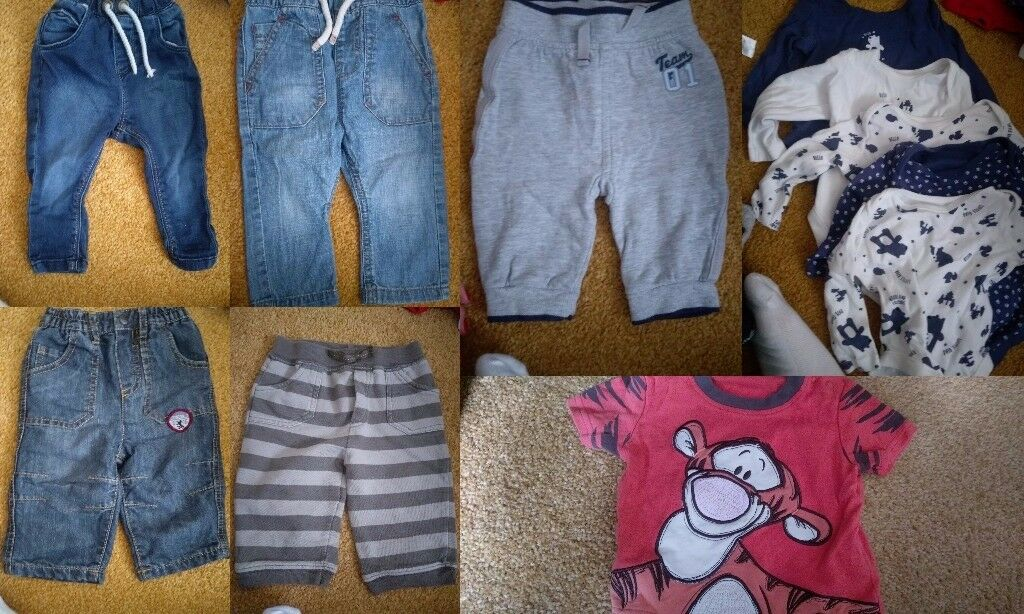 3-6 months winter baby boy bundle with coats