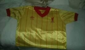 Rare 1981-1985 liverpool FC away shirt