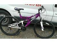 Mountain bike Dunlop ladies purple