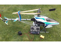 Modal Helicopter - Kyosho Nexus 30 with accessories - Glow Fuel