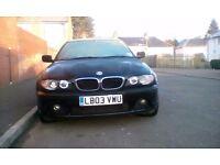 BMW 318CI 03 REG FACELIFT MODEL
