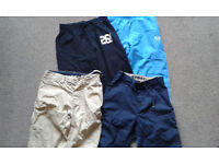 BOYS 9-10 YRS TRACKSUIT BOTTOMS AND SHORTS
