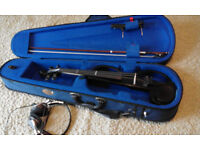 Yamaha Silent Violin SV130 BUNDLE!!