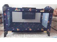 Hauck Winnie The Pooh Travel Cot Excellent Condition