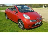 Nissan micra sport c+c convertible 2 lady owners