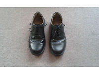 Black mens shoes size 7