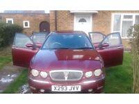 2001 red rover 75 2.0 24v v6