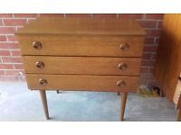 Schreiber Retro Vintage chest of drawers (3) nice quality