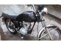 Honda CG125BR Barn find. Spares or repair