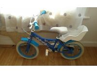 Frozen girl bike