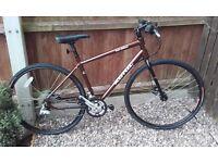 Kona Dew Deluxe 2015 hybrid bike as condition