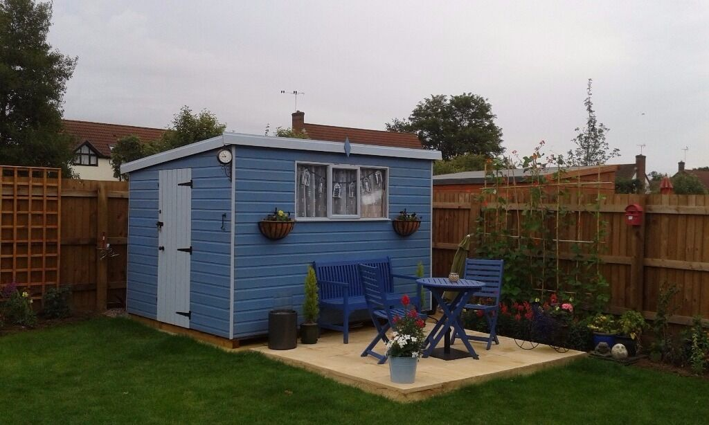 Garden Sheds Gumtree pent roof garden shed 8 x 10 | in peterborough, cambridgeshire