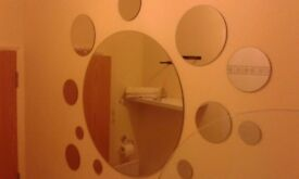 21 round mirrors large to small