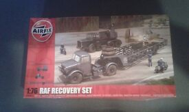 Airfix 1:76 Scale RAF recovery set model kit, still sealed