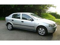 Vauxhall Astra16V Elegance 5 door hatchback 2003 Silver
