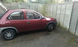 2000 Vauxhall Corsa 973 cc 3 door