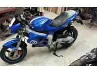 Gilera DNA 50cc bike