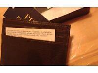 Polo Ralph Lauren credit card wallet