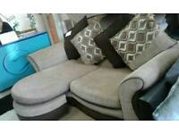 New ex showroom dfs modular corner sofa delivery free
