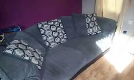3 seater corduroy sofa