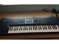 Korg Triton Extreme 61 Note with Moss Board