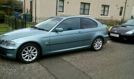 Bmw e46 316ti non start for sale