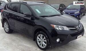 2015 Toyota RAV4 Limited AWD Navigation Heated Leather Seats